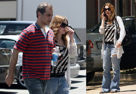 Photos of Drew Barrymore and a Friend Out in LA