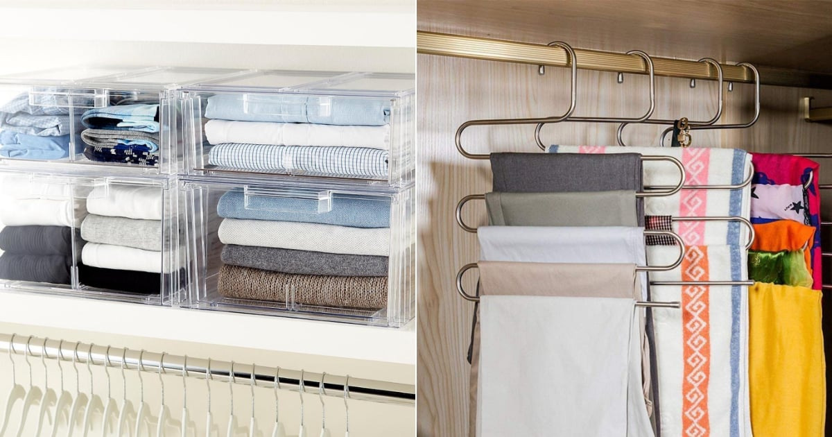Cluttered Closet? These 25 Clever Organizers Will Save You — For Less Than $25 Each