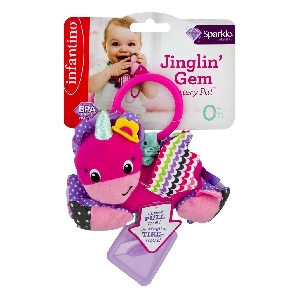 Infantino Sparkle Jinglin' Gem Jittery Pal