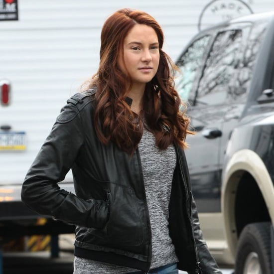Shailene Woodley's Red Hair