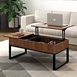 WLIVE Wood Coffee Table