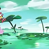 Amphibia Anne and Sprig Zoom Background