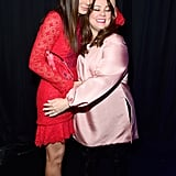 Sandra reunited with her The Heat costar Melissa McCarthy at the People's Choice Awards in January 2016.