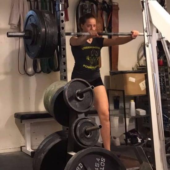 Teenager Naomi Kutin Deadlifting 300 Pounds