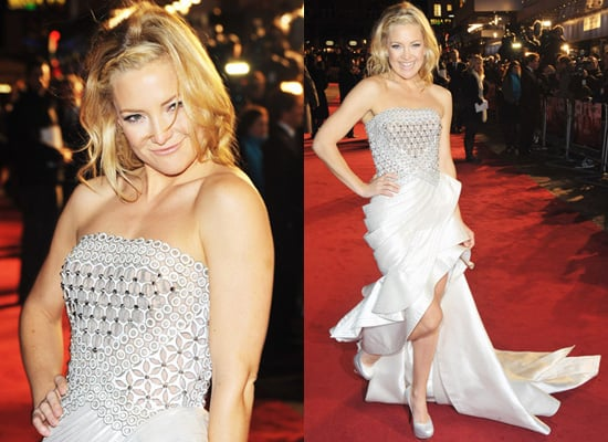 Photos of Kate Hudson at Nine Premiere in London in Atelier Versace