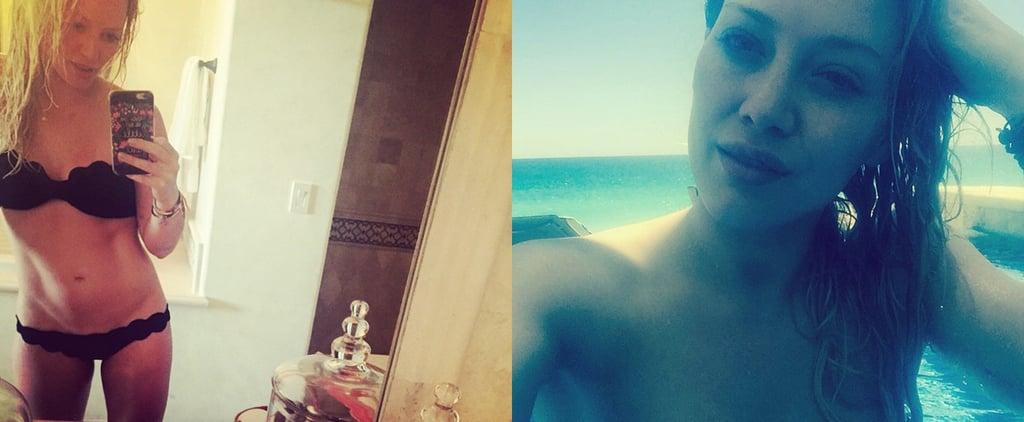 Hilary Duff Bikini Instagram Pictures