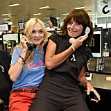 Fearne Cotton and Davina McCall