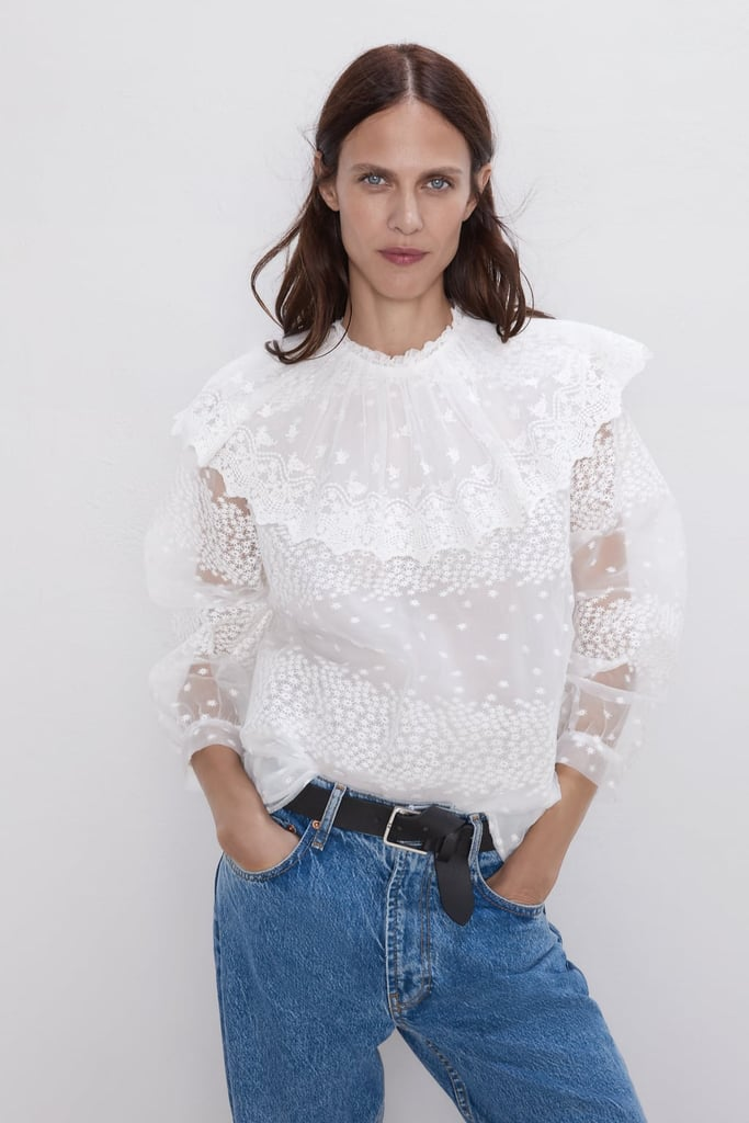Zara Ruffled Blouse