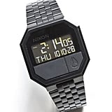 Nixon All Black Rerun Watch ($99)