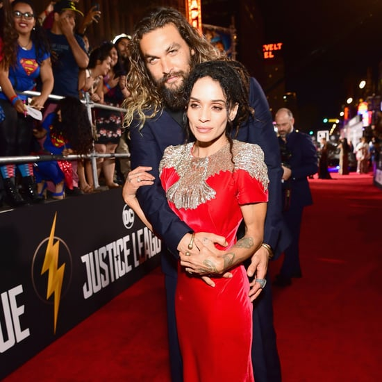 Jason Momoa Cosies Up To Lisa Bonet And Their Two Children: Lily Collins Looked Chic In Black And White In Her Paule