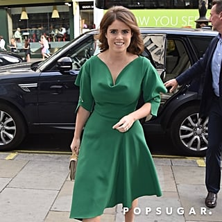 Princess Eugenie's Aquazzura Heels