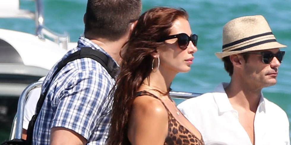 Ryan Seacrest Sails Into Saint-Tropez With a New Lady