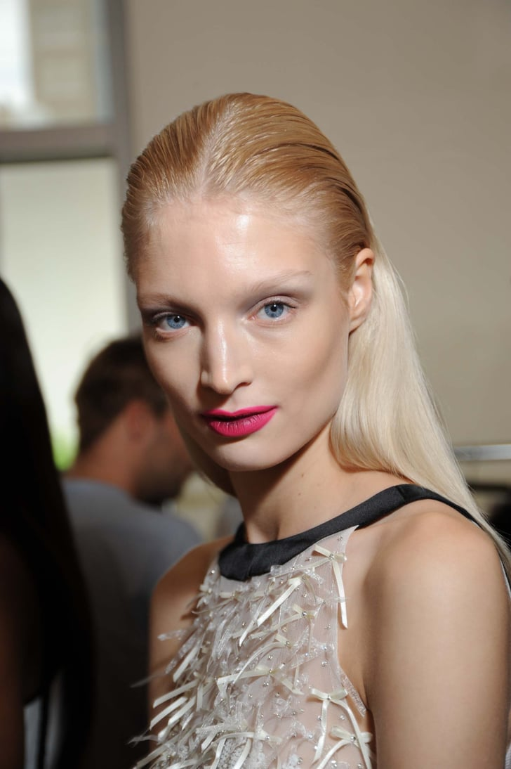 Prabal Gurung Spring 2012: Backstage Beauty Pictures