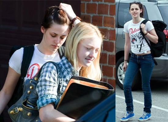9/6/2009 Kristen Stewart, Dakota Fanning