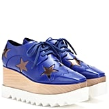 Stella McCartney Hackney platform derby shoes ($1,100)