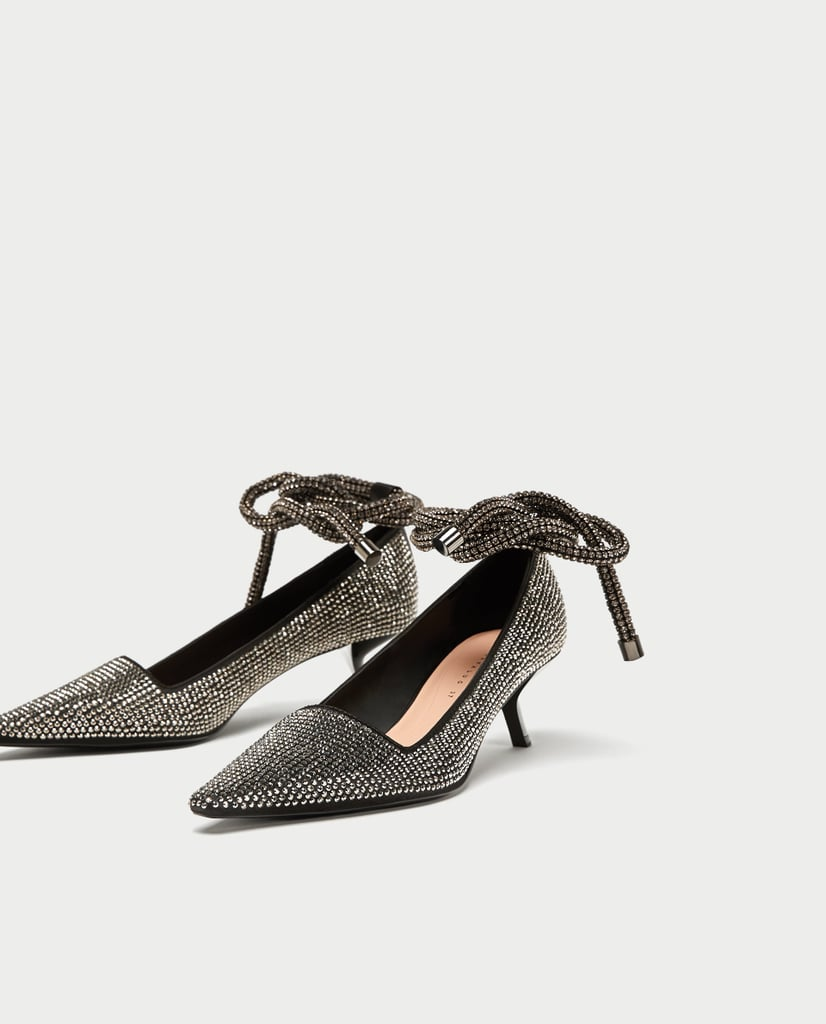 99f8bc795d8 Zara Shiny High Heel Court Shoes