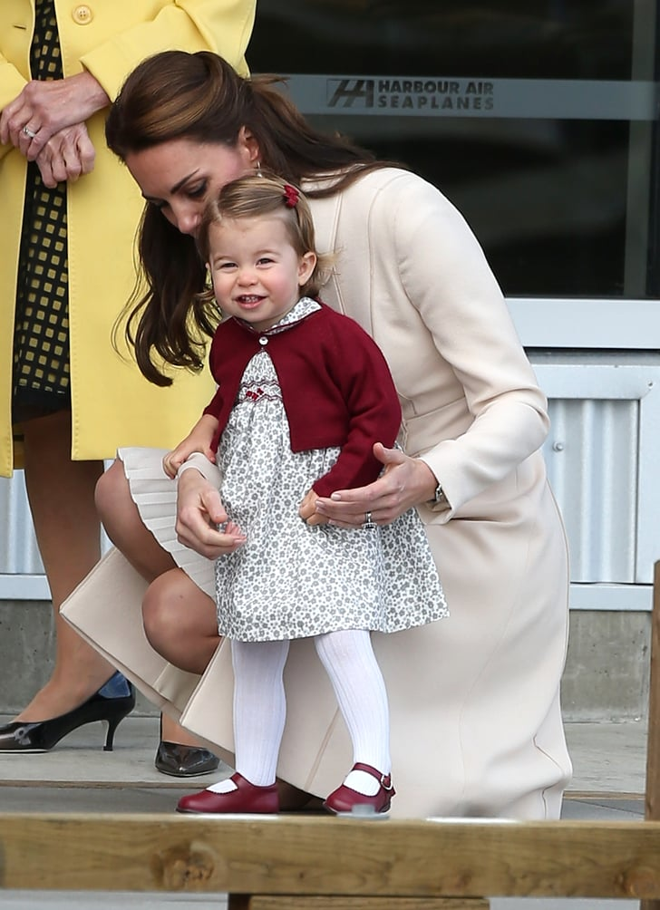 Princess Charlotte S Cutest Pictures In Canada 2016