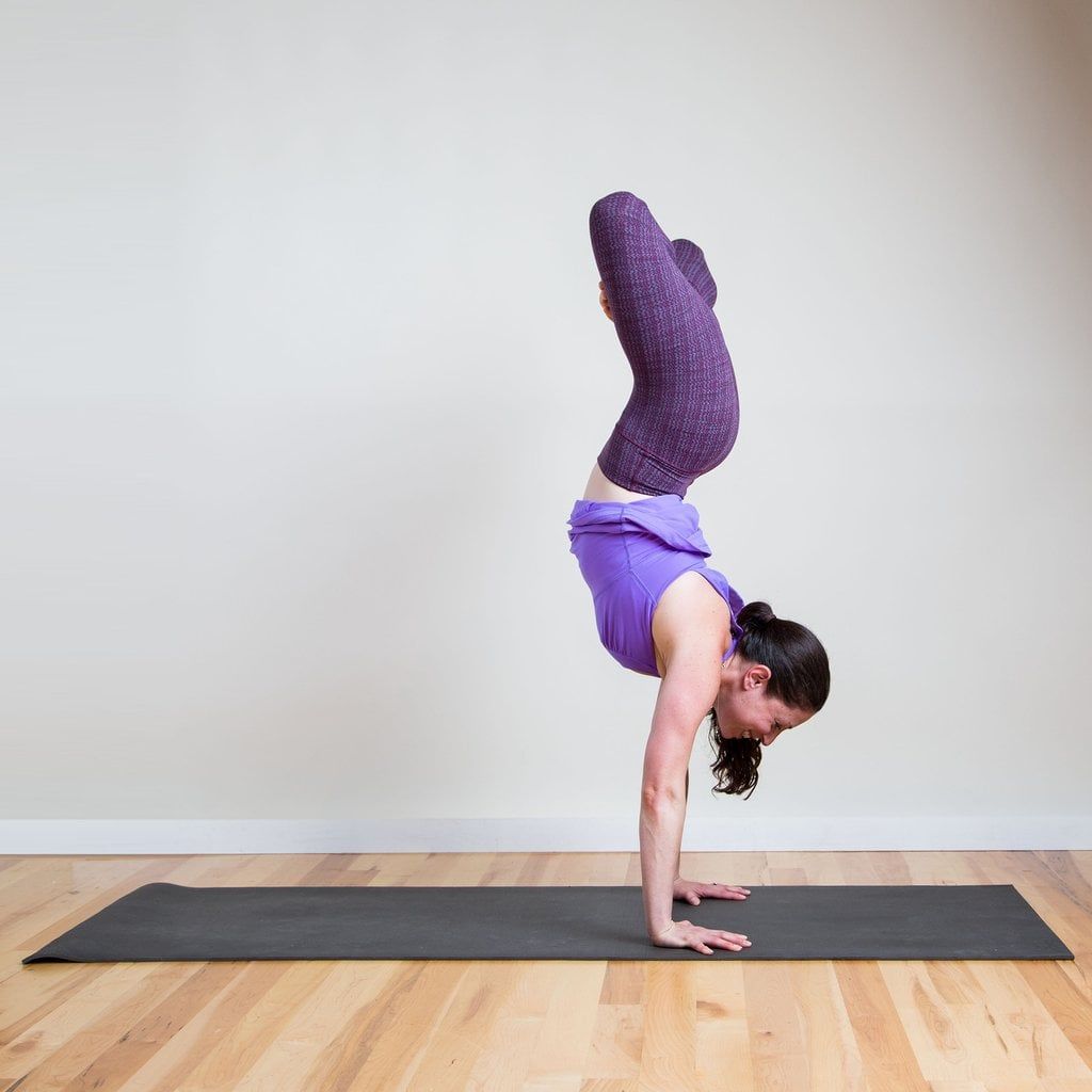 Advanced Frog Stand advanced yoga poses | pictures | popsugar fitness