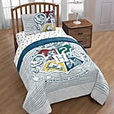 Harry Potter Hogwarts Crest Bed in a Bag Bedding Set With Reversible Comforter