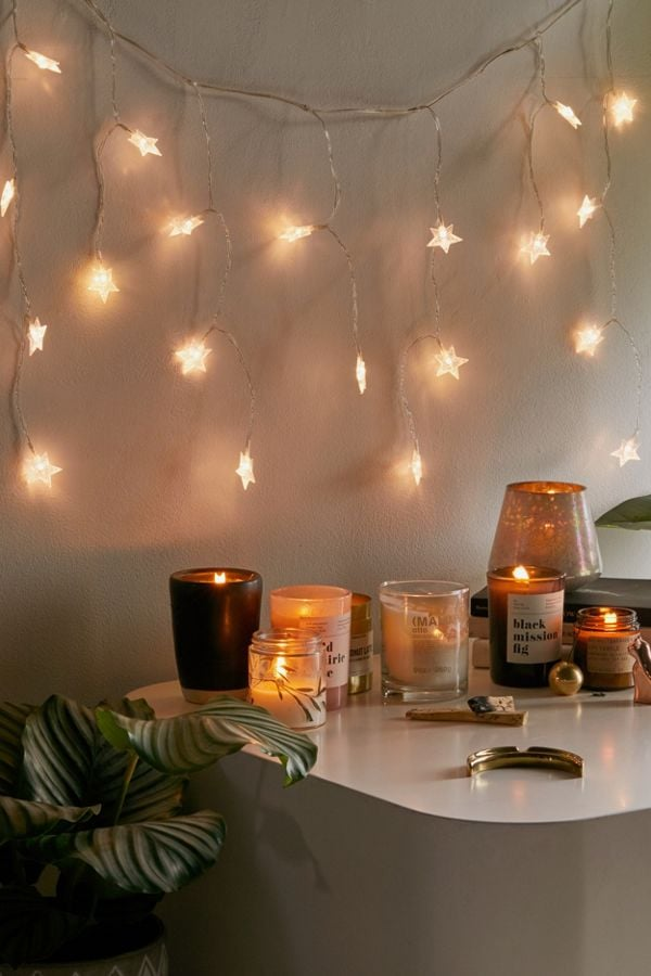 Urban Outfitters Star Curtain String Lights