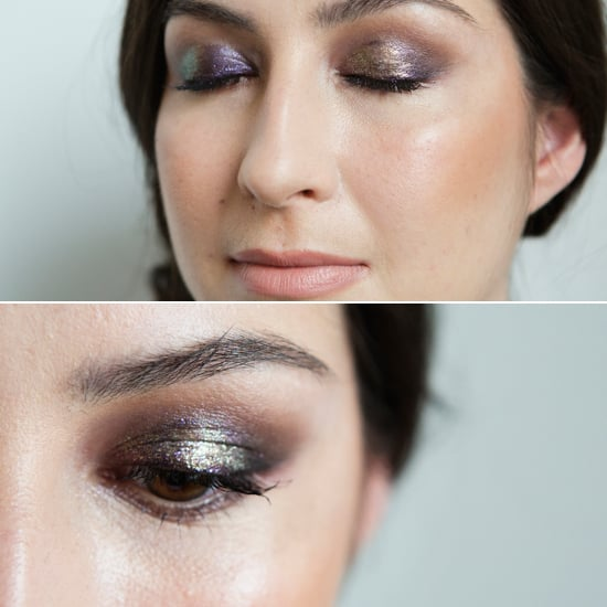 """""""It looks like you put a chandelier on your eye with the addition of the Pixie Dust,"""" she continued. """"It gives a fish scale/mermaid effect to the eye."""""""