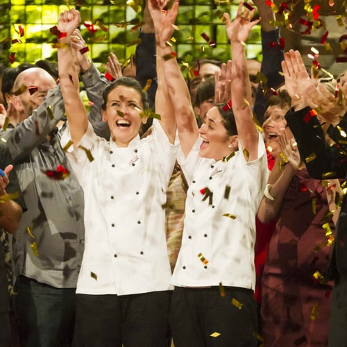 The Winners of My Kitchen Rules 2012 Are Leigh Sexton and Jennifer Evans From South Australia