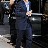 George Clooney was a guest on The Tonight Show.