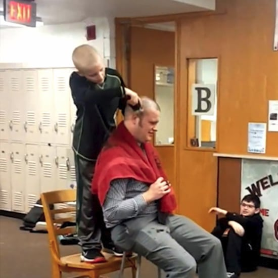 Principal Shaves His Head For Bullied Student | Video