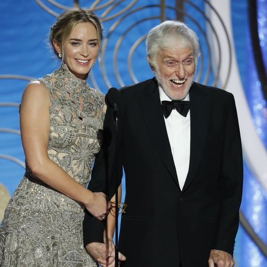 Dick Van Dyke and Emily Blunt at 2019 Golden Globe Awards