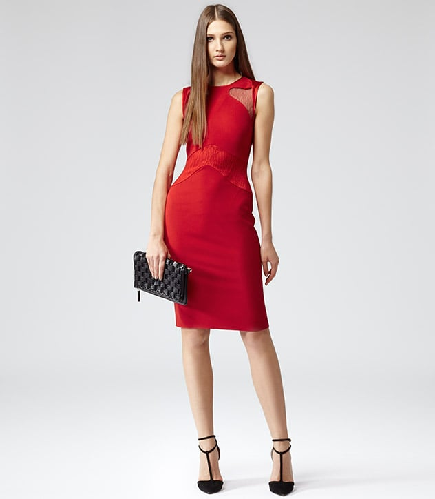 A sexy fit and a fiery hue mean you'll be dressed to impress in this