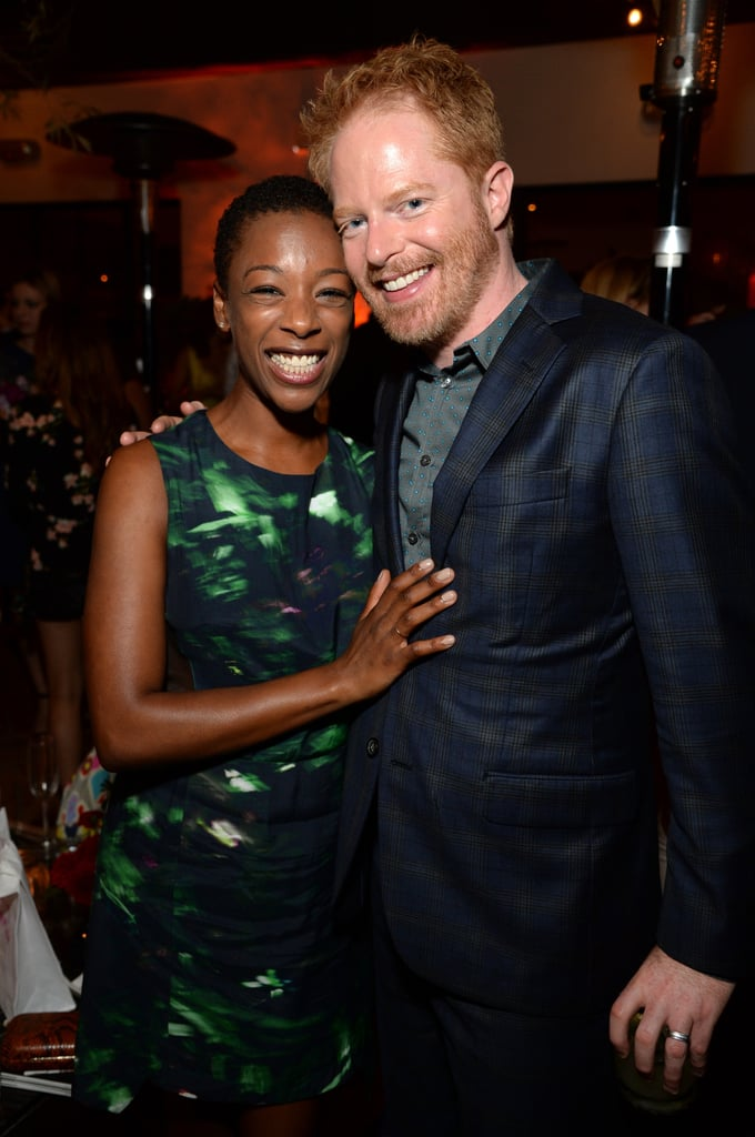 Jesse Tyler Ferguson had a moment with Samira Wiley on Saturday.