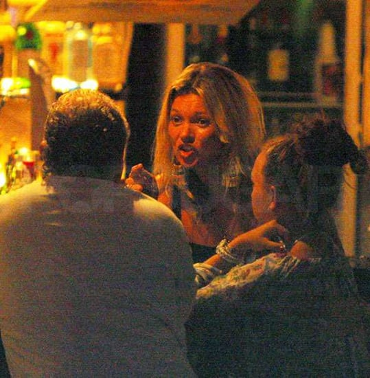 Kate Moss Gets In a Little Boss Time in Ibiza