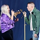 "October: She Joined Macklemore Onstage at the ""We Can Survive Concert"" in LA"