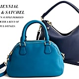 J.Crew Biennial Medium Satchel ($377.10) and Biennial Hobo ($445.60)