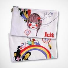 Kit Cosmetics Limited Edition Kit Design Award 2009 Small Utility Bag ($23.95)