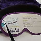 Eye Mask Invites