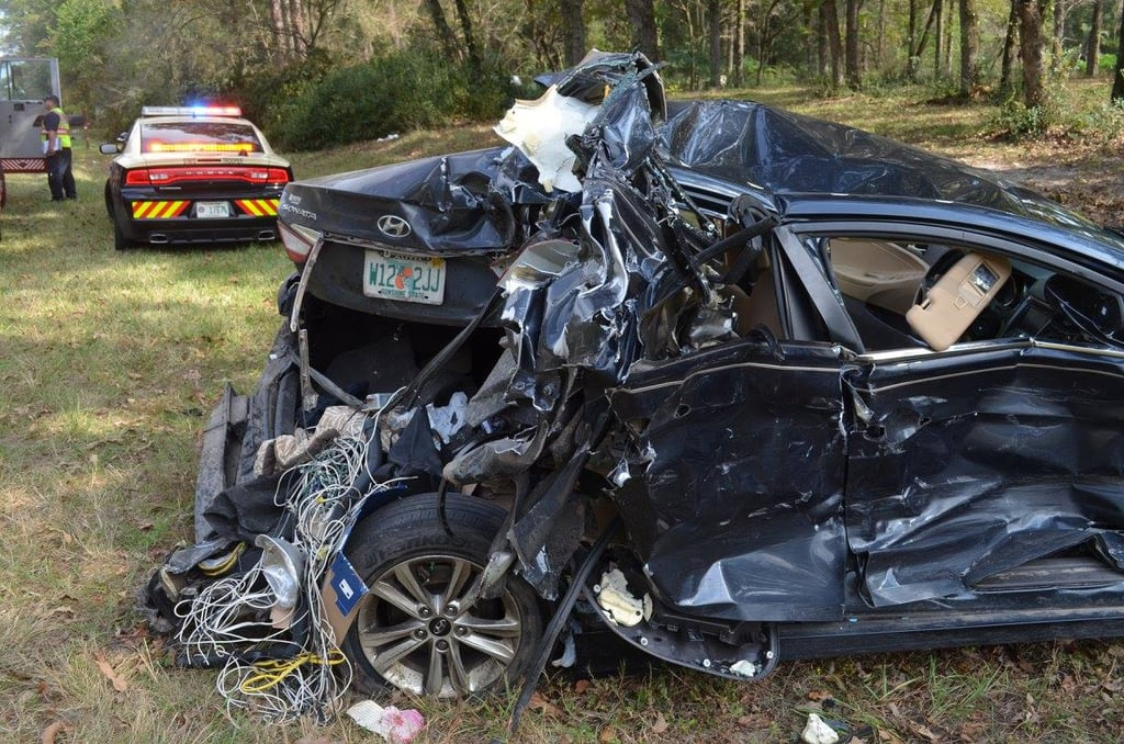 Miracle Car Accident Shows Importance of Car Seats | POPSUGAR Moms