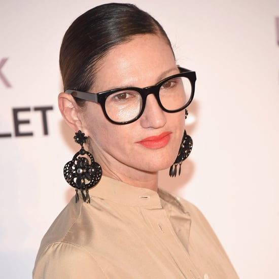 Jenna Lyons Wearing J.Crew Spring 2017 Collection