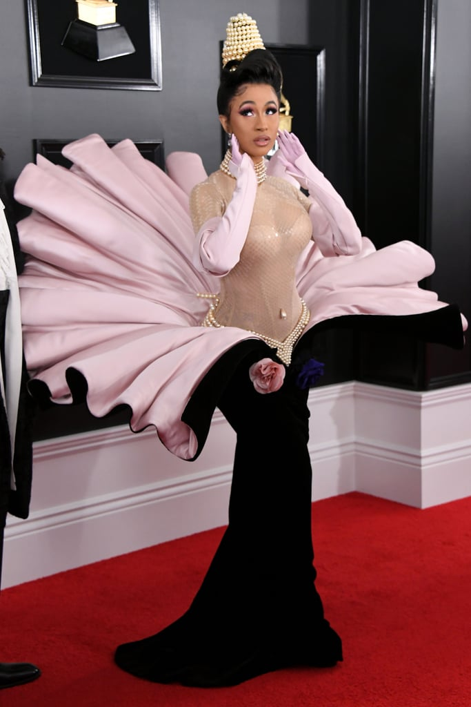 Cardi B at the 2019 Grammy Awards