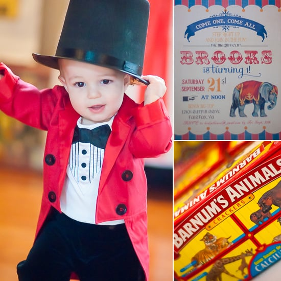 Circus-Inspired Birthday Party