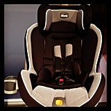 Chicco's new Next Fit convertible car seat is inspired by its Key Fit infant sibling. Its Super Cinch LATCH uses the pully system to make installation a breeze (no more tug-of-war with the LATCH tighteners). It should be available this Spring.