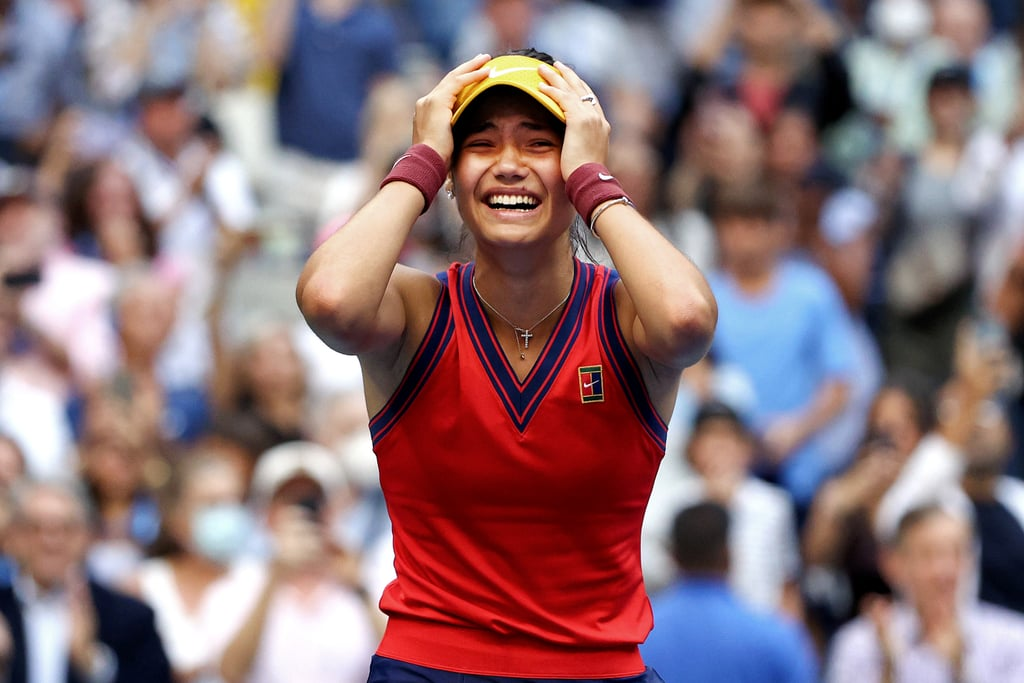 Emotional Photos From the 2021 US Open