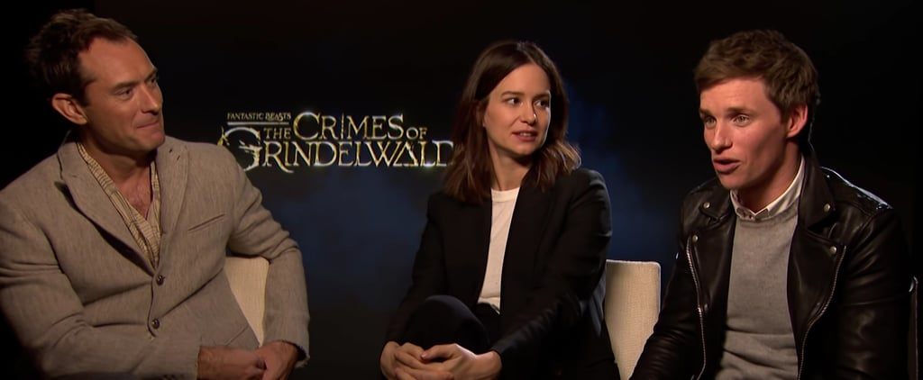 Crimes of Grindelwald Cast Discussing Deleted Scenes Video
