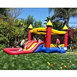 "Kiddo 12"" x  19""  Bounce House With Water Slide and Air Blower"