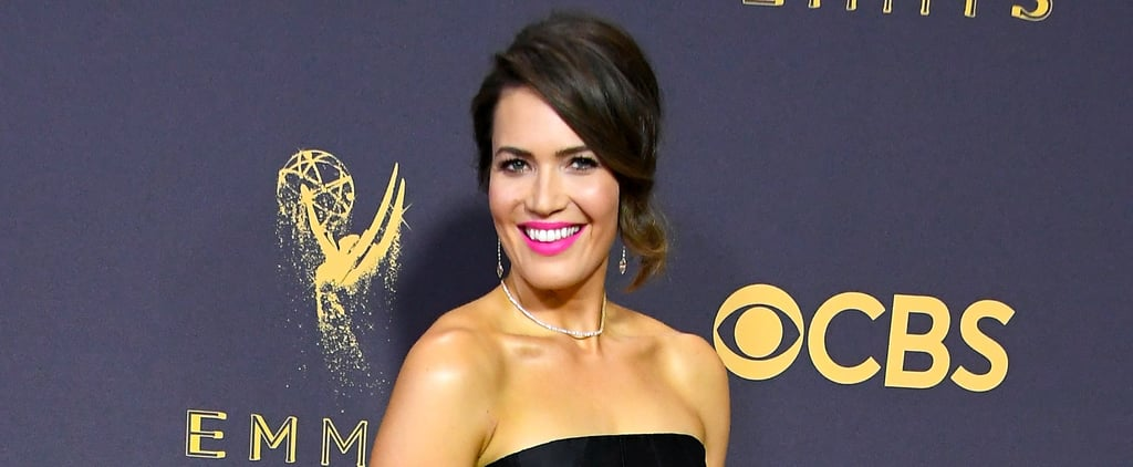 Mandy Moore's Hair, Makeup, and Nails at the 2017 Emmys