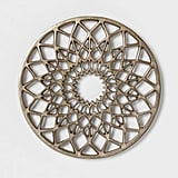 (New) Cravings by Chrissy Teigen Round Aluminum Trivet