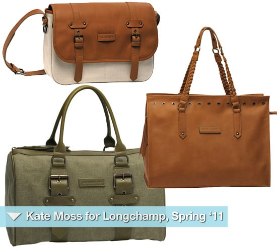 Kate Moss Designs Handbags for Longchamp for Spring 2011