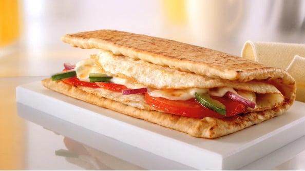 Healthiest Breakfast Fast Food Sandwich