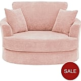 Ideal Home Camden Fabric Swivel Chair