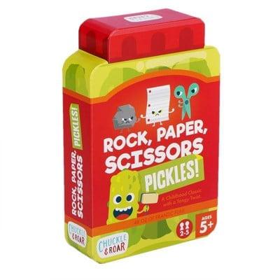 Rock Paper Scissors Pickles!